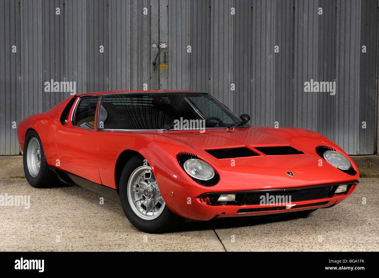 1969 Lamborghini Muira P400 S Stockbild