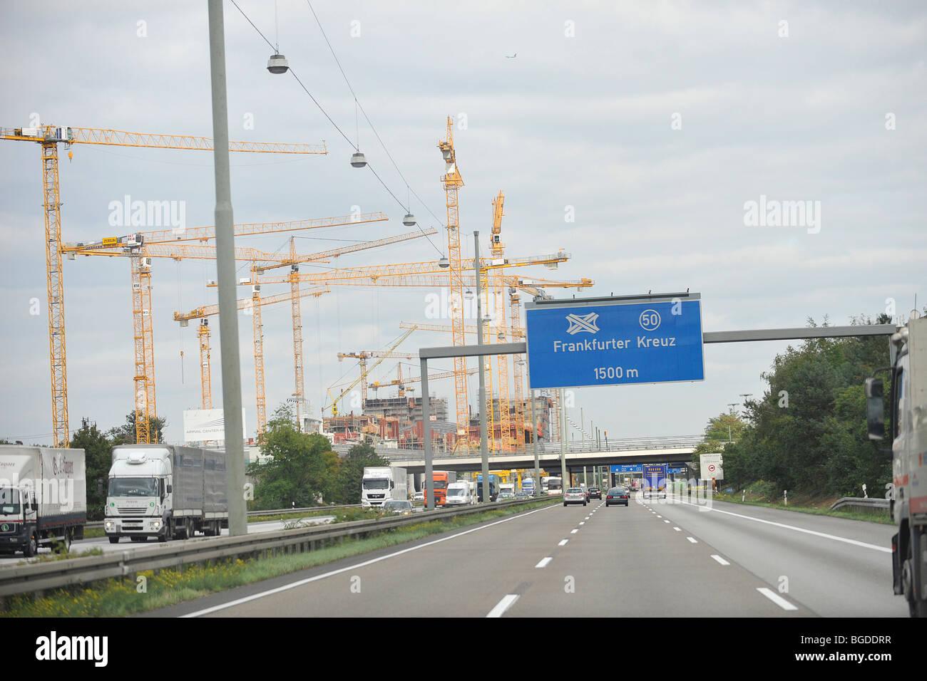 Autobahn Richtung Frankfurt