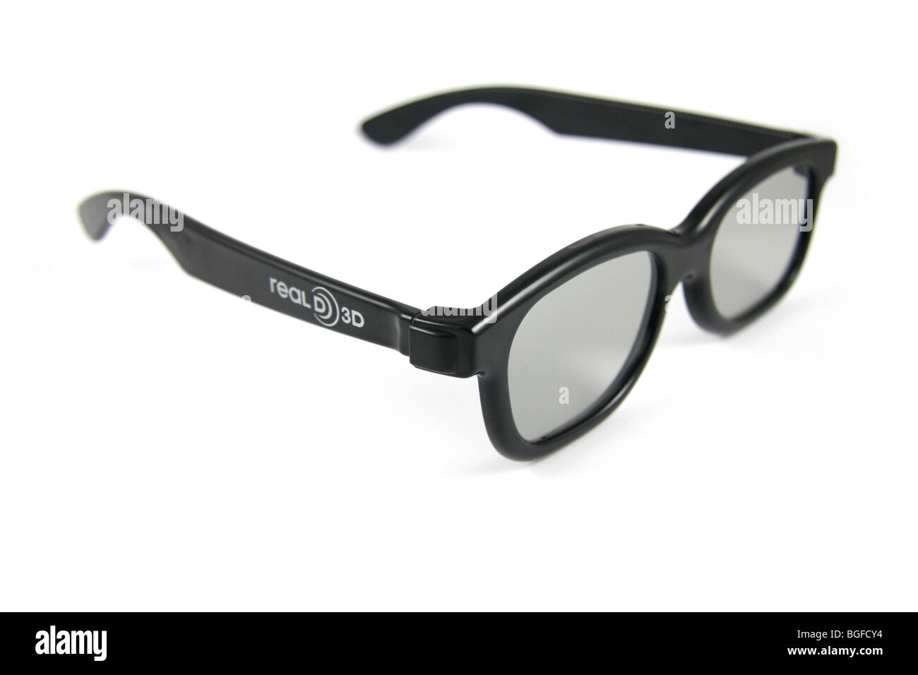 Real D 3D Brille, James Camerons Avatar angezeigt. Stockbild
