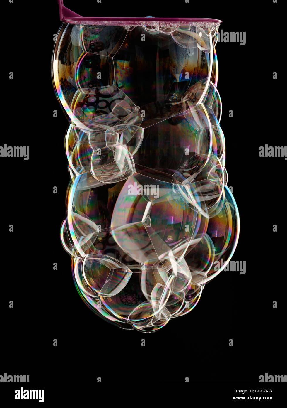 Blasen Stockbild