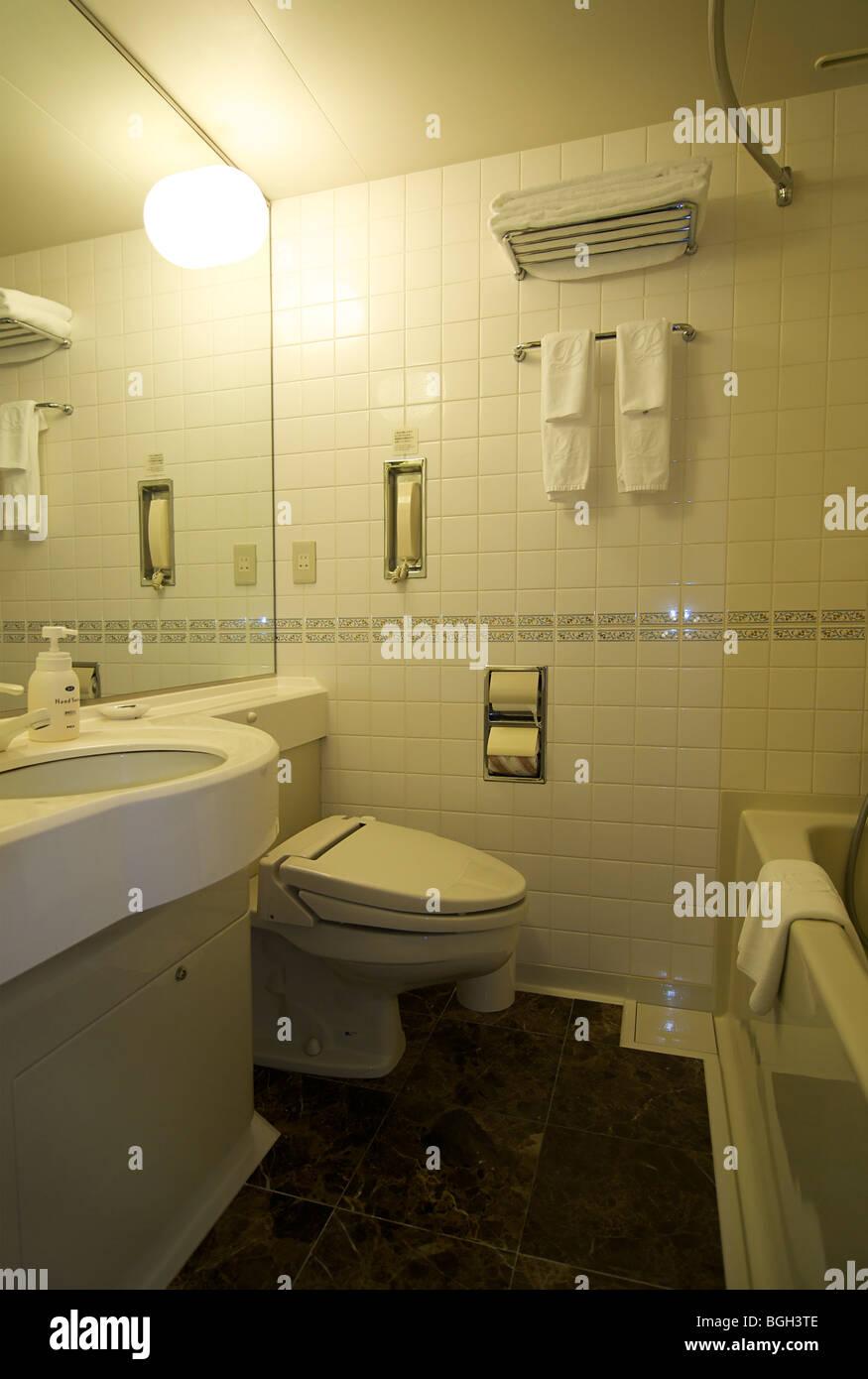 Badezimmer In Einem Standard Zimmer Prince Shinagawa Hauptturm