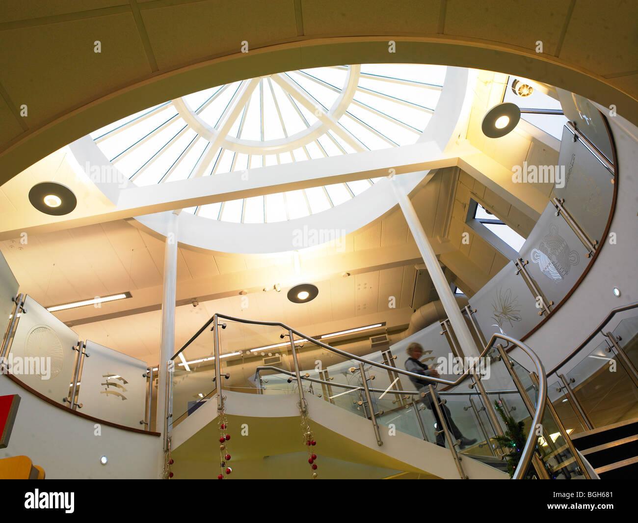 Öffentliche Bibliothek Stockbild
