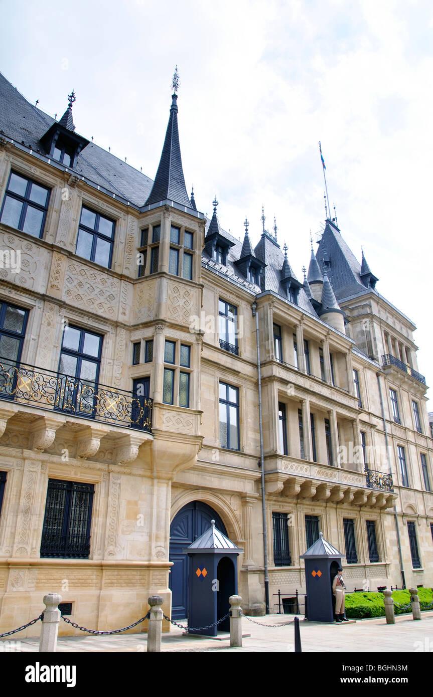 Königspalast, Luxemburg Stockbild
