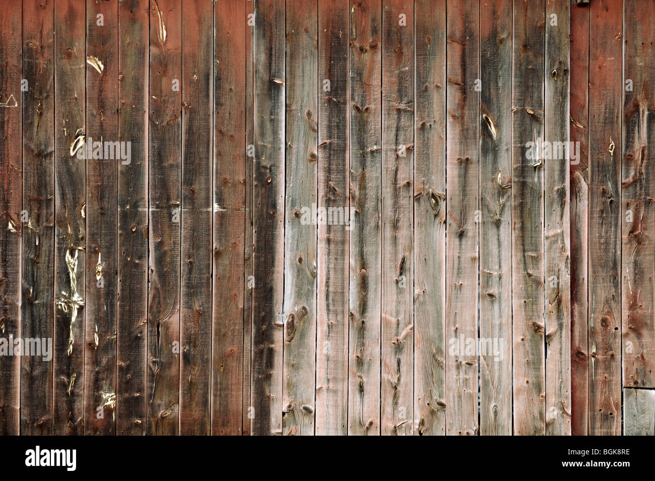 Grunge verwitterte Holzbretter Hintergrund Textur Stockbild