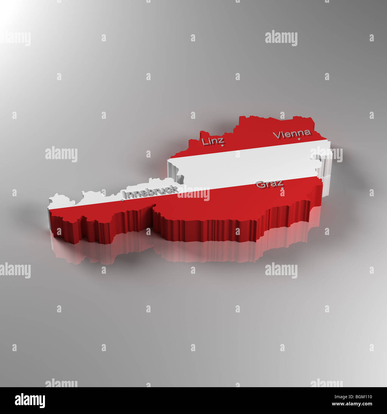 3d Karte Osterreich.3d Karte Von Osterreich Stockfoto Bild 27484716 Alamy