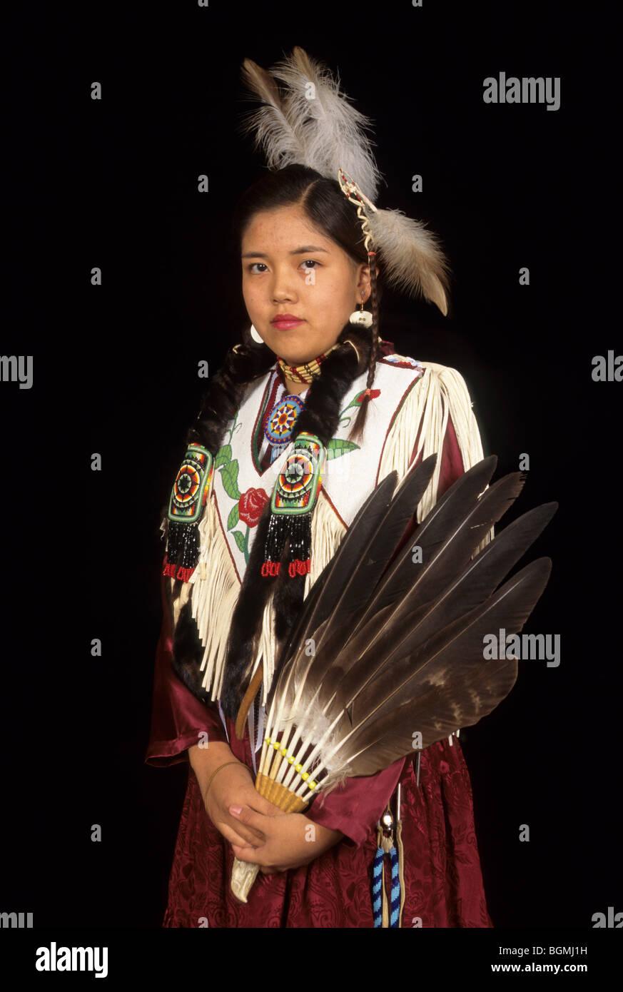 Kleid braun indianer