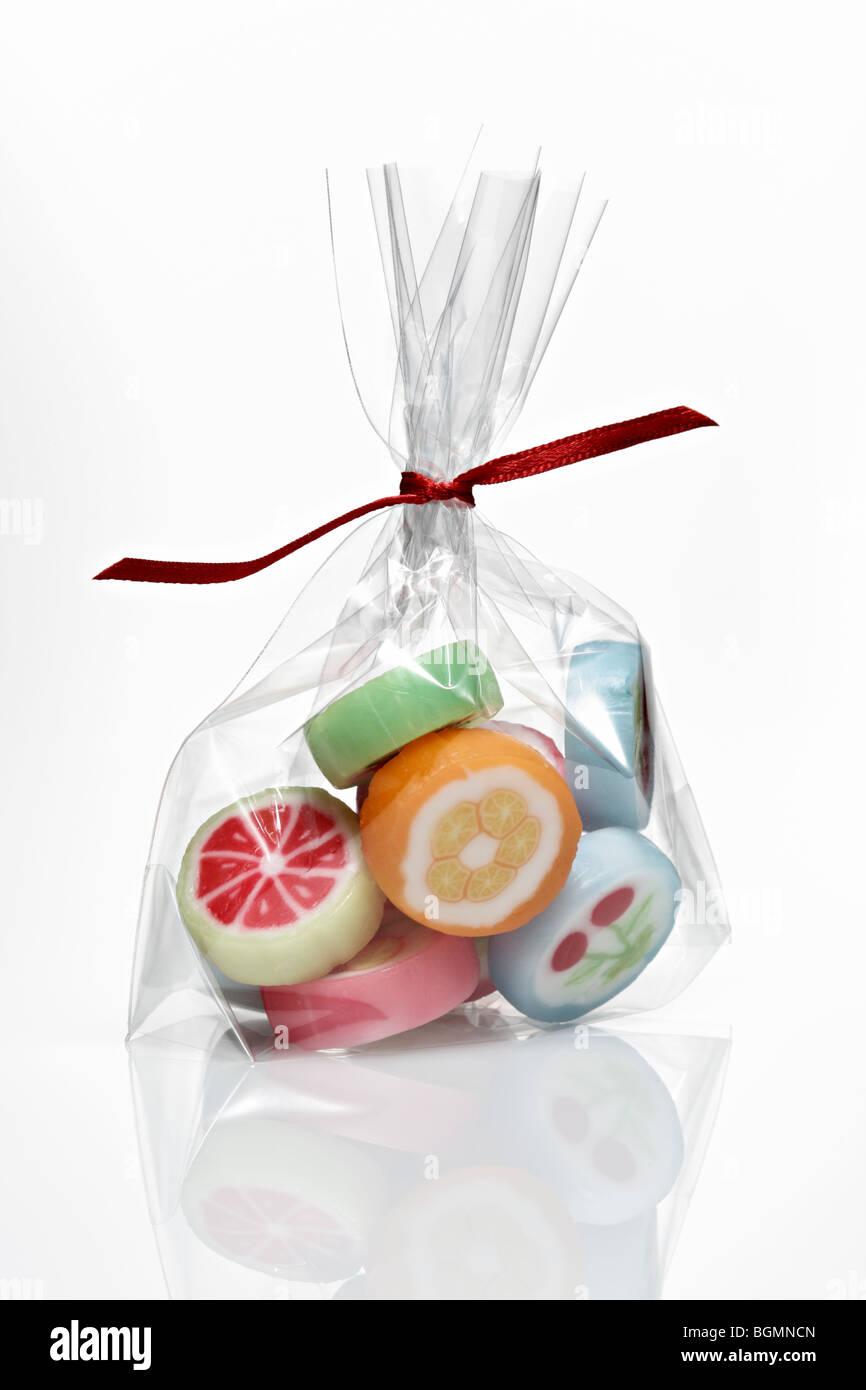 Beutel mit Süßigkeiten Stockbild