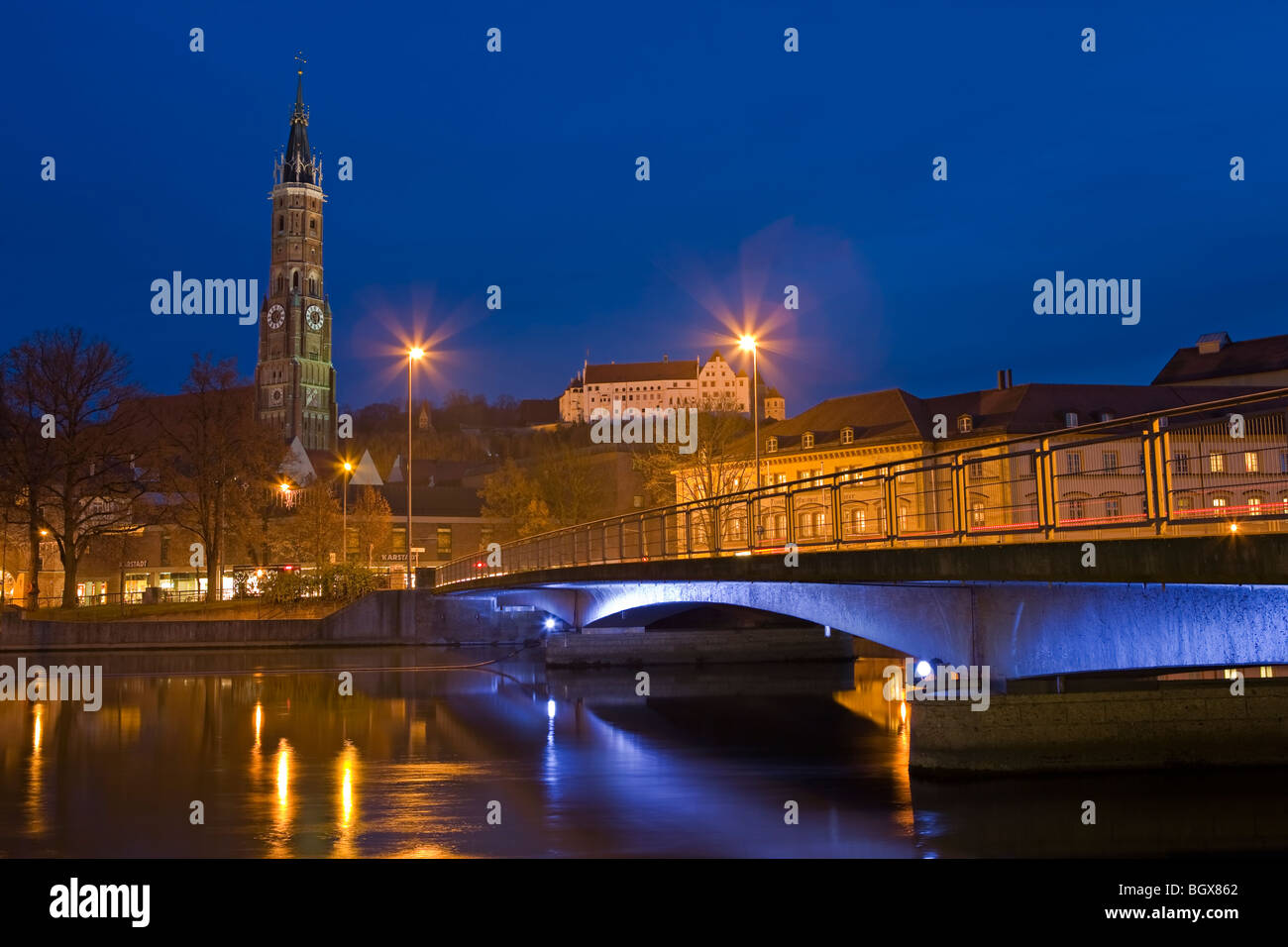 view at landshut at the isar river stockfotos view at landshut at the isar river bilder alamy. Black Bedroom Furniture Sets. Home Design Ideas