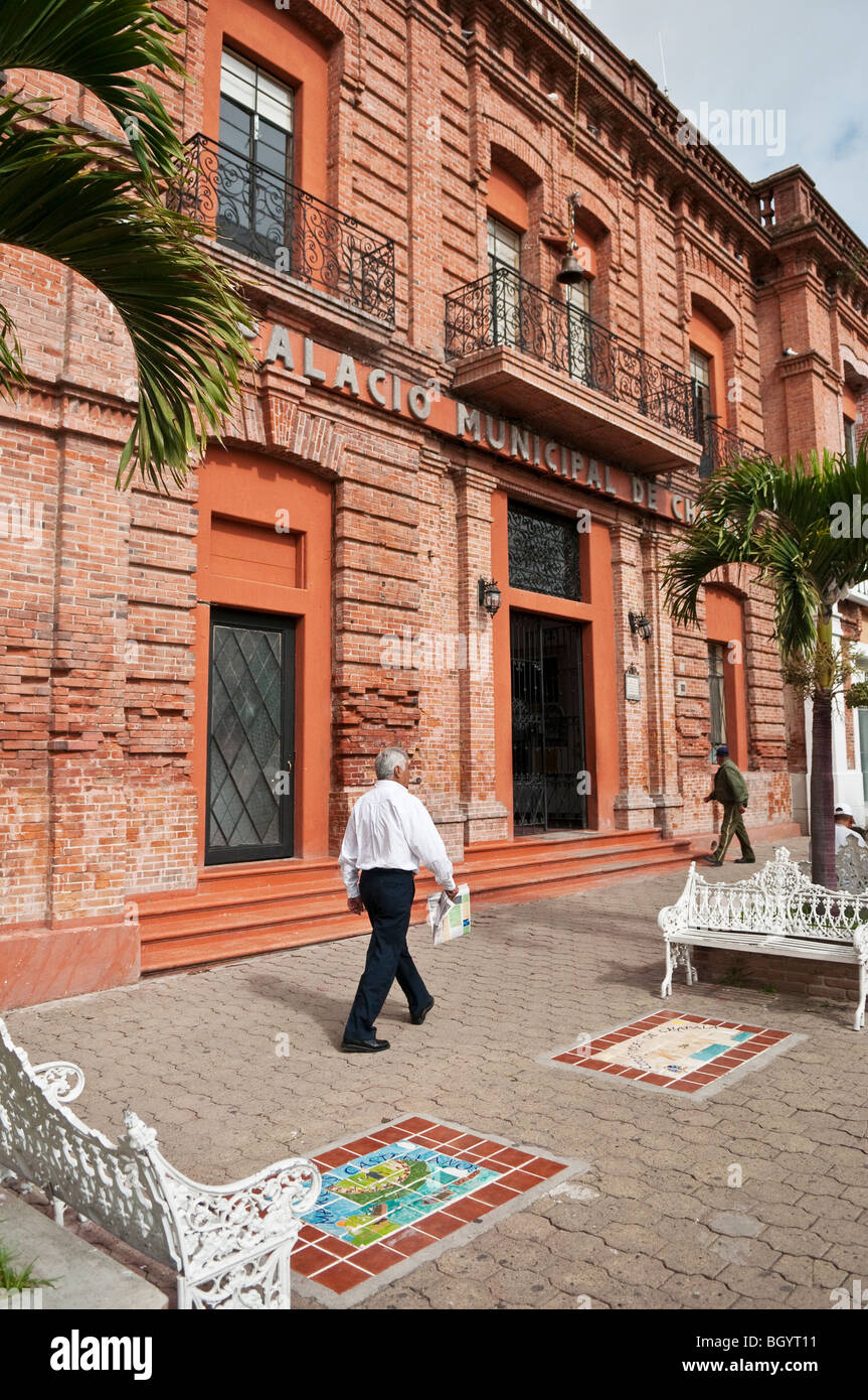 Palacio Municipal Chapala, Rathaus für die Stadt Lake Chapala, Jalisco, Mexiko. Stockbild