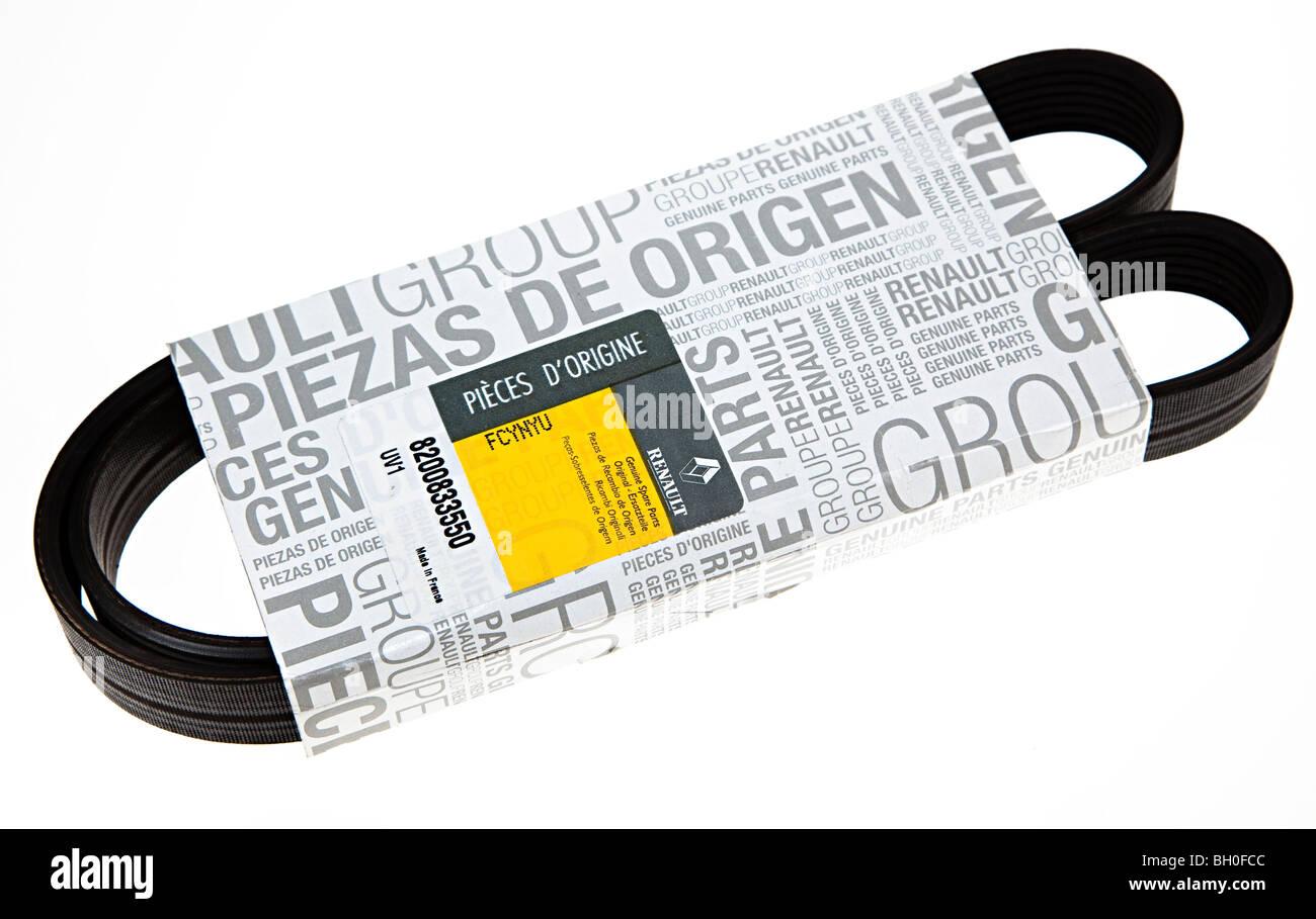 original renault ersatzteile keilriemen in verpackung. Black Bedroom Furniture Sets. Home Design Ideas