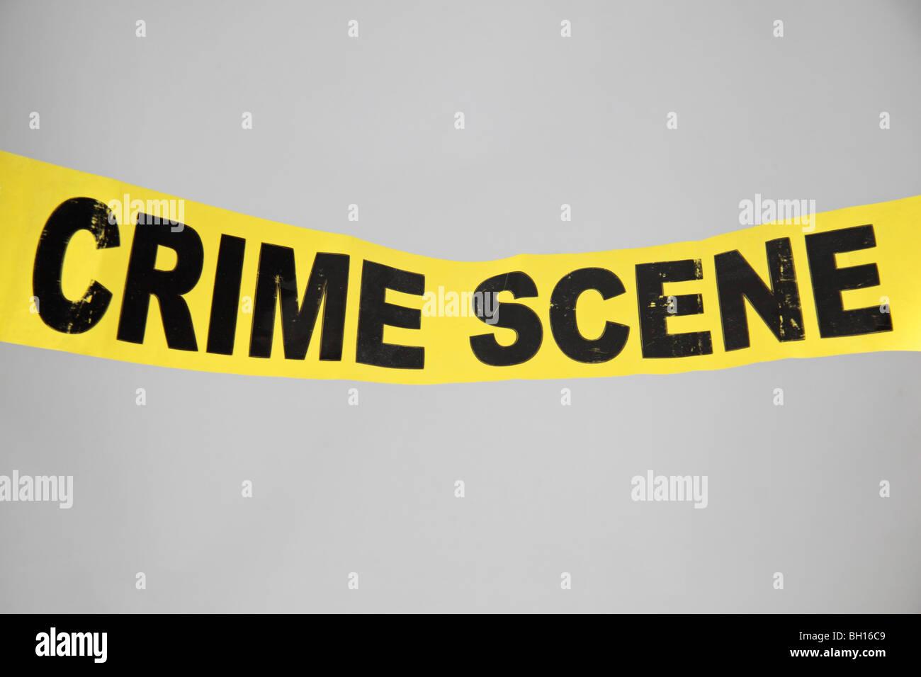 Verbrechen-Szene (nicht überqueren) Band aus dem Vereinigten Königreich (UK). Jan 2010 Stockbild