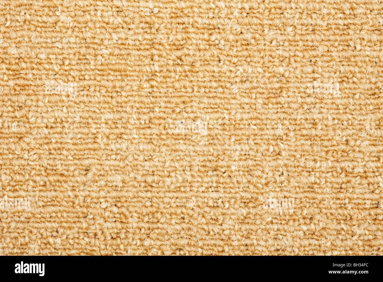 Teppich hautnah Hintergrundtextur Stockbild