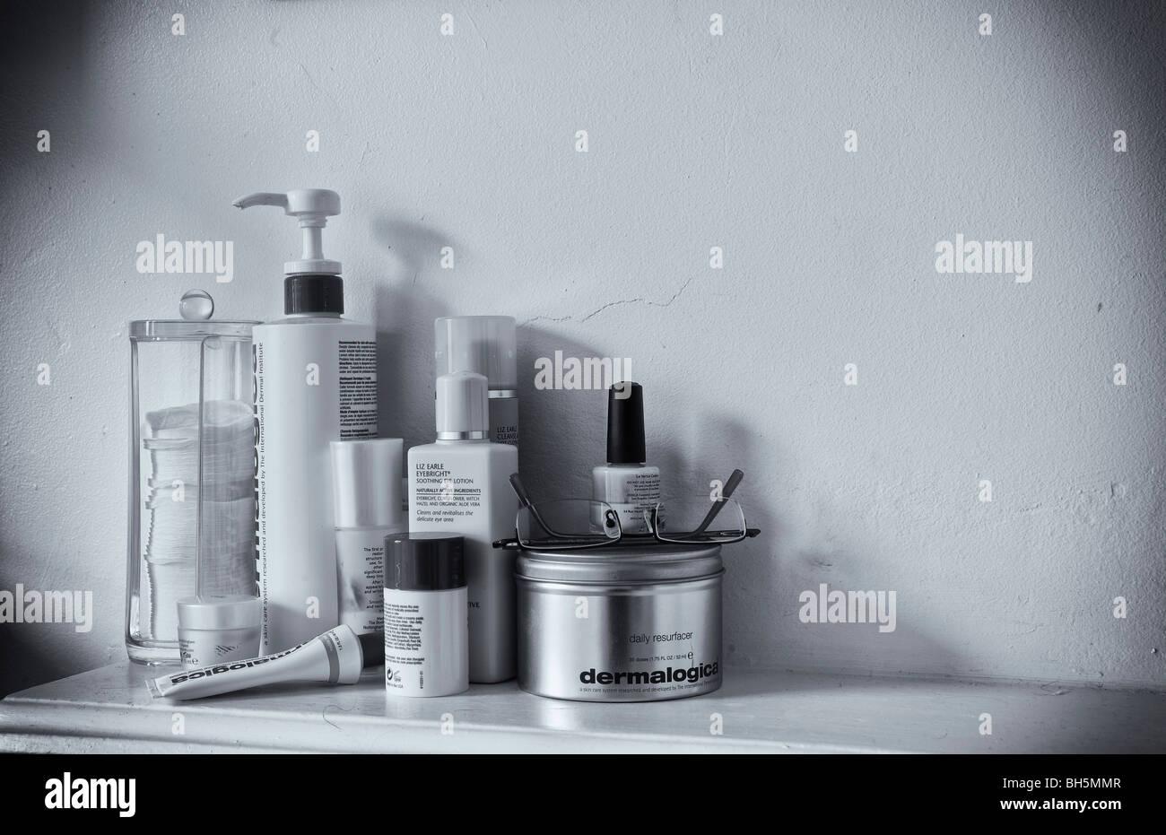 Schönheit Produkte Stockbild