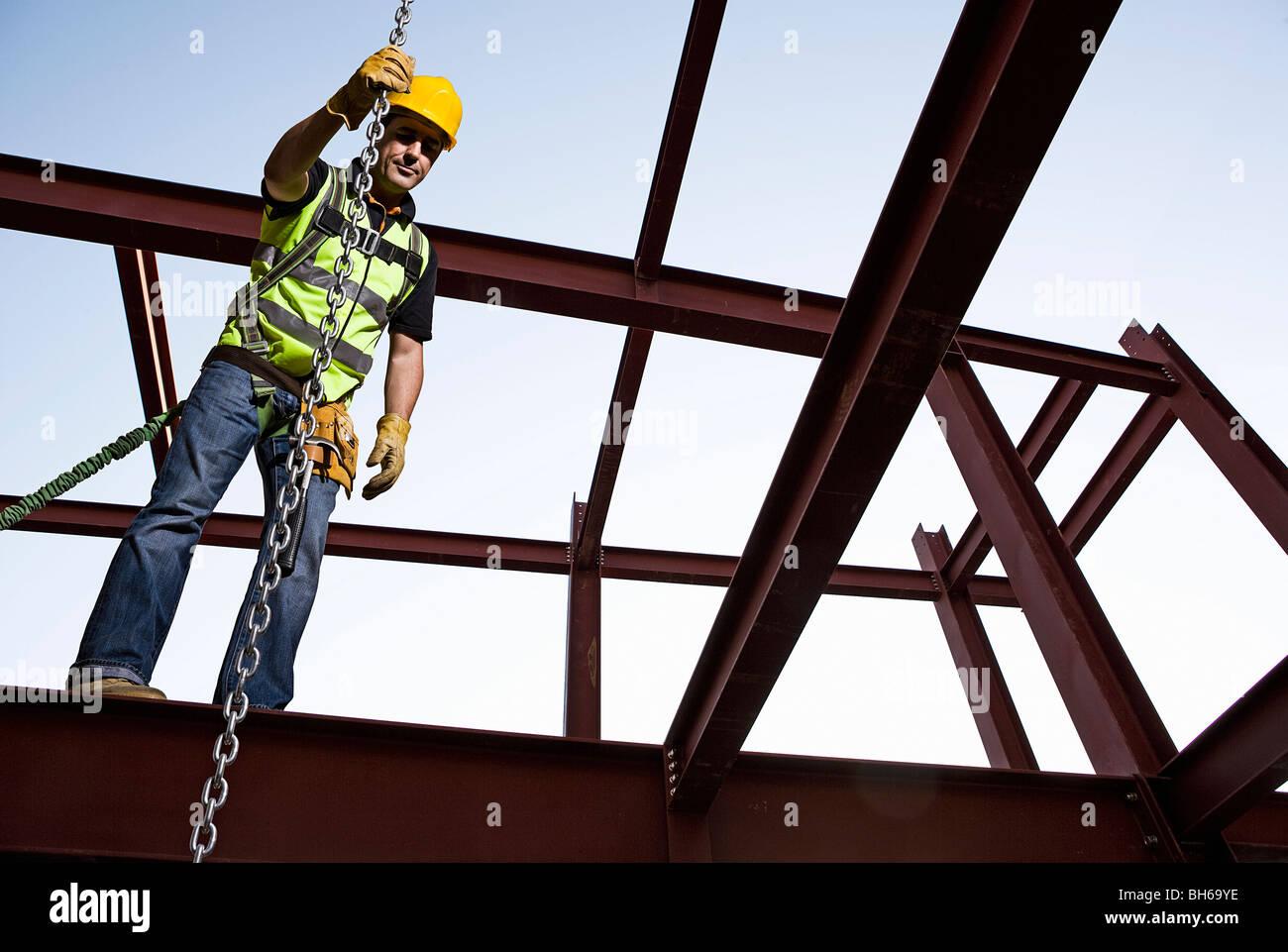 Stahlarbeiter 01 Stockbild