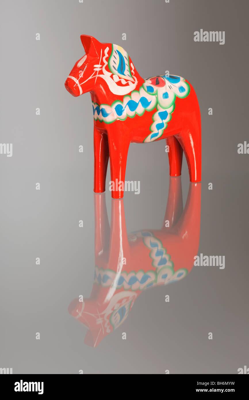 Dalarna Pferd eine traditionelle dalarna pferd oder dalapferd schwedisch