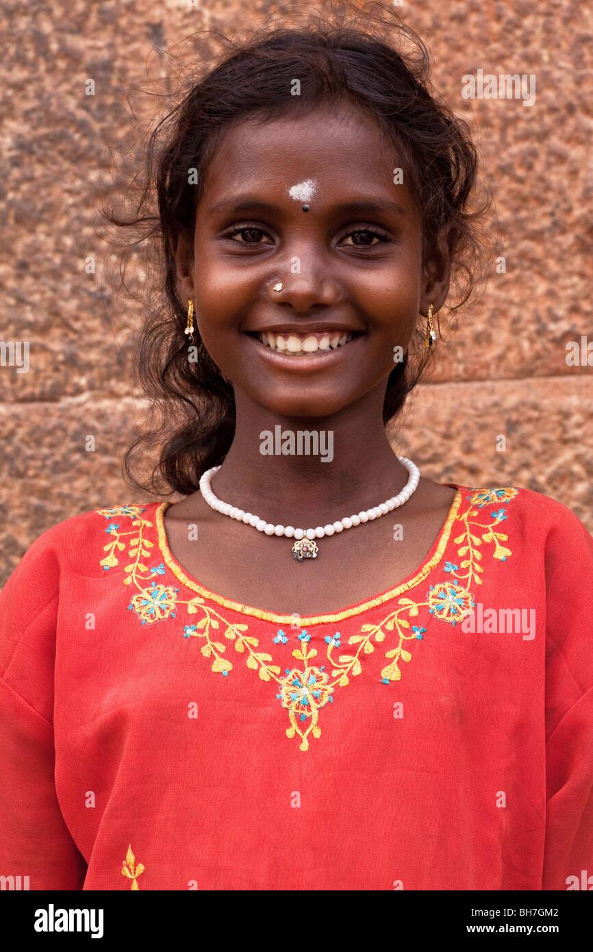 schöne Mädchen von Tamilnadu