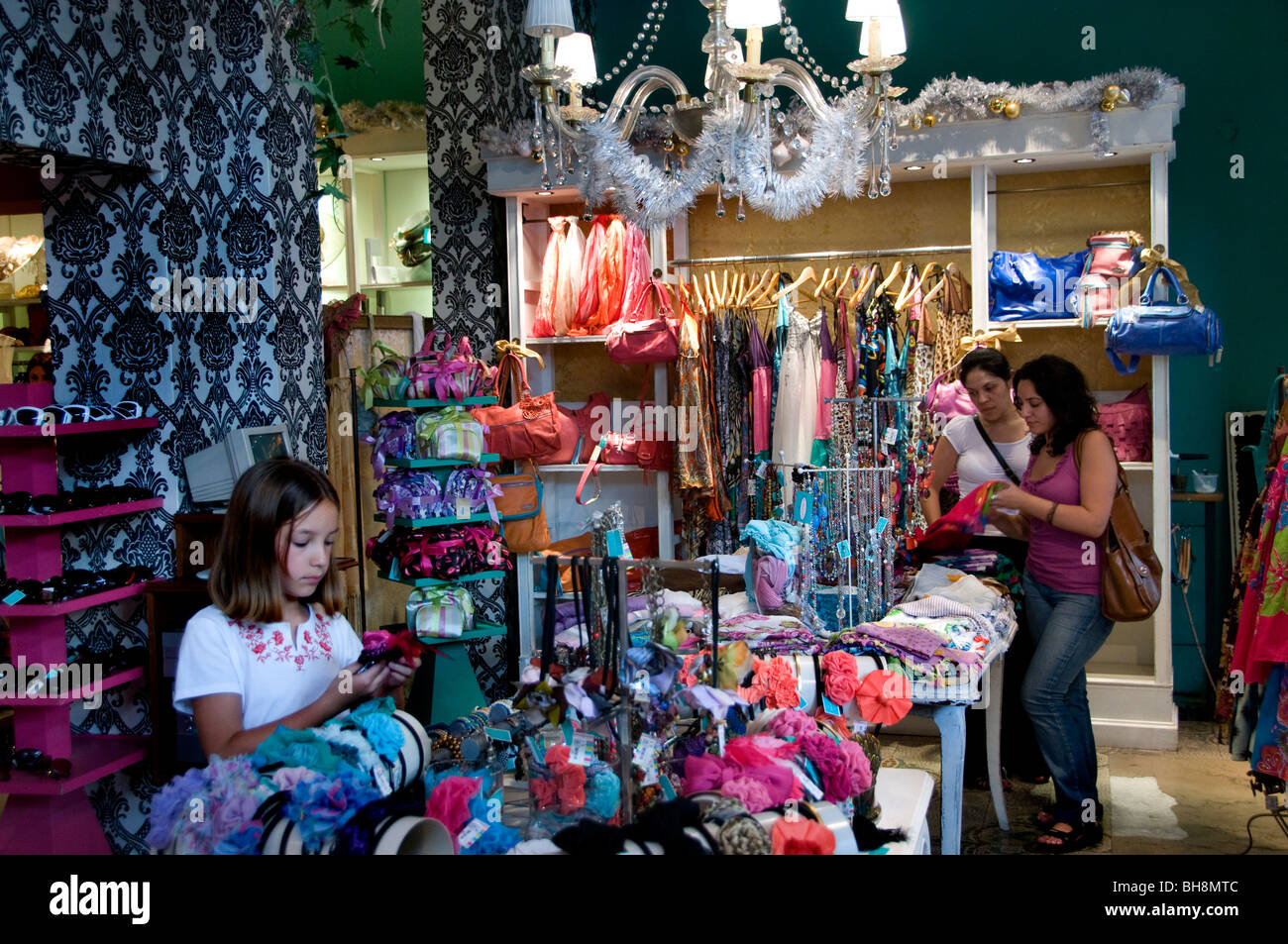 Soho Palermo Viejo-Buenos Aires-Boutique Shop Argentinien Stockbild