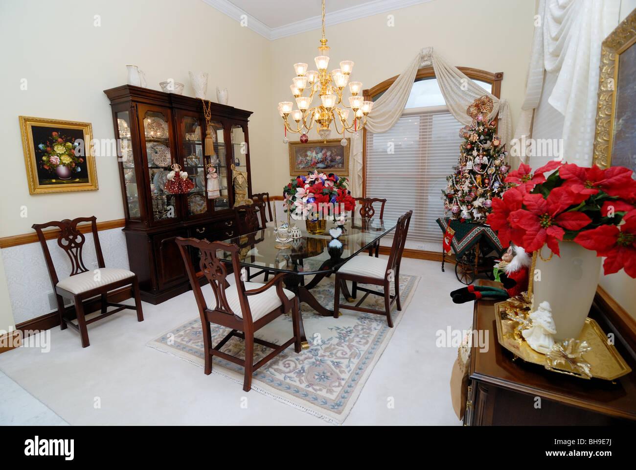 Esstisch Elegantes Zuhause Formal Stockfotos Und Bilder Kaufen Alamy