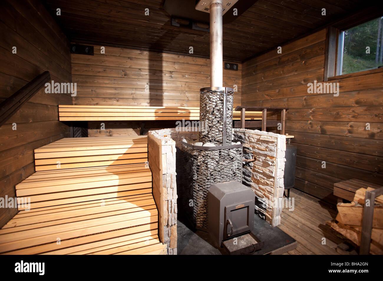 sauna stockfotos sauna bilder seite 2 alamy. Black Bedroom Furniture Sets. Home Design Ideas