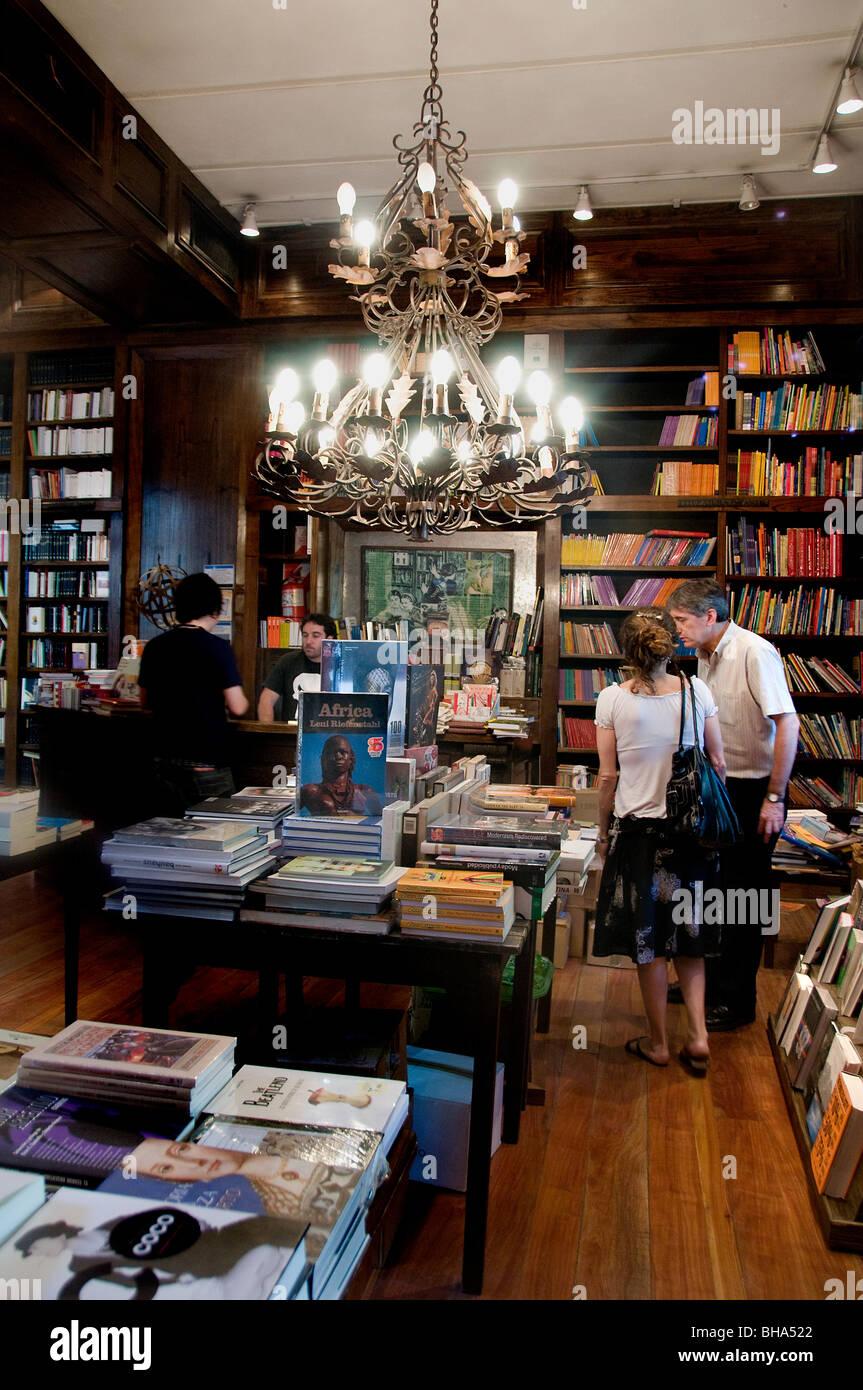 Buchhandlung Palermo Viejo Soho Buenos Aires Argentinien Stockbild