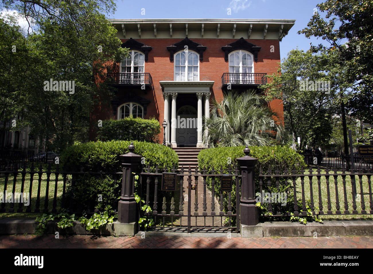 Mercer House Mercer Williams Haus 429 Bull Street Savannah