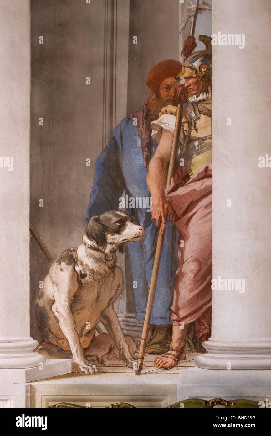 Innenarchitektur Geschichte europa italien venetien vicenza villa valmarana ai fresken