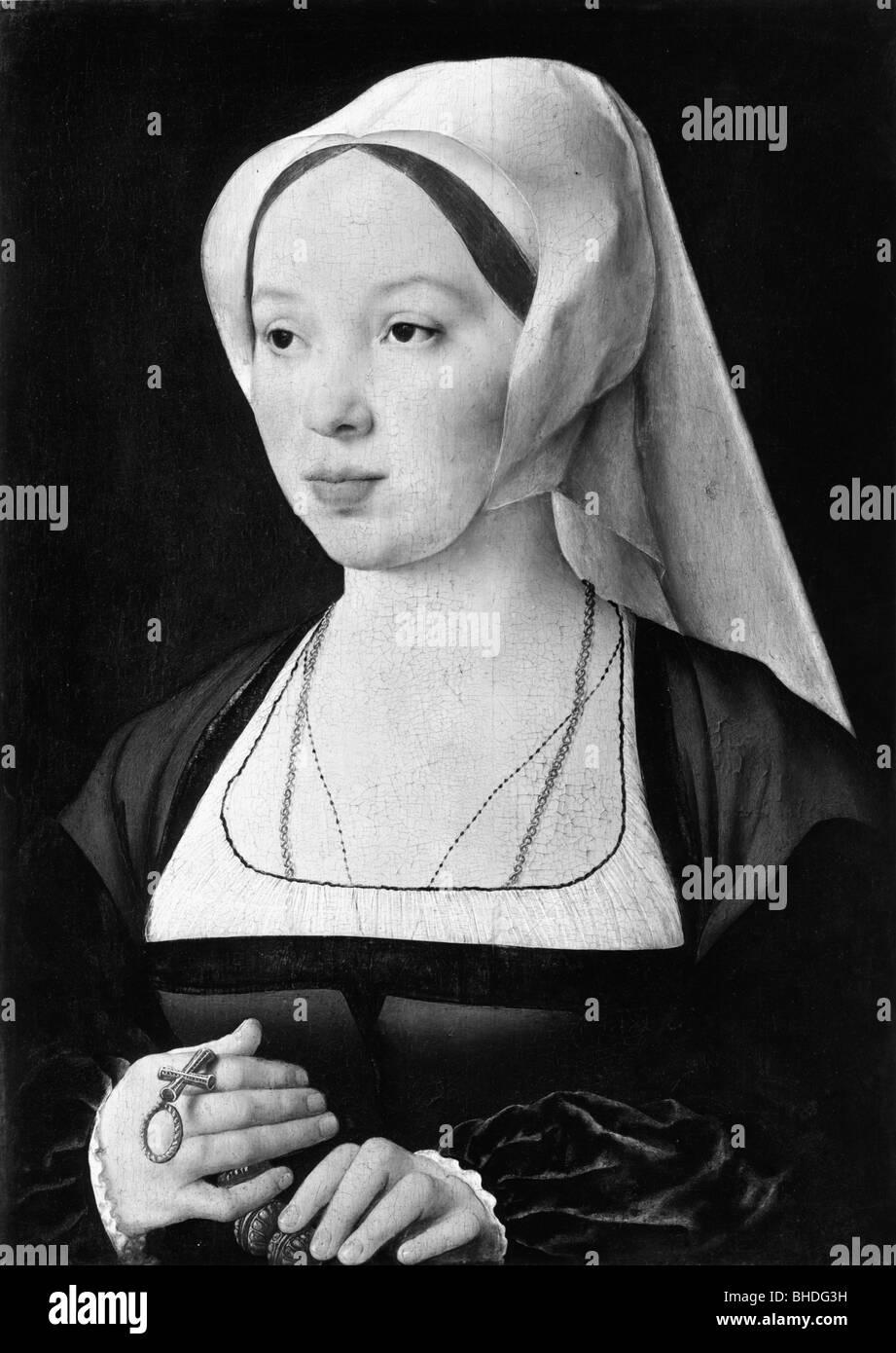 Menschen, Frauen, 16. , 18. Jahrhundert, Porträt einer Frau
