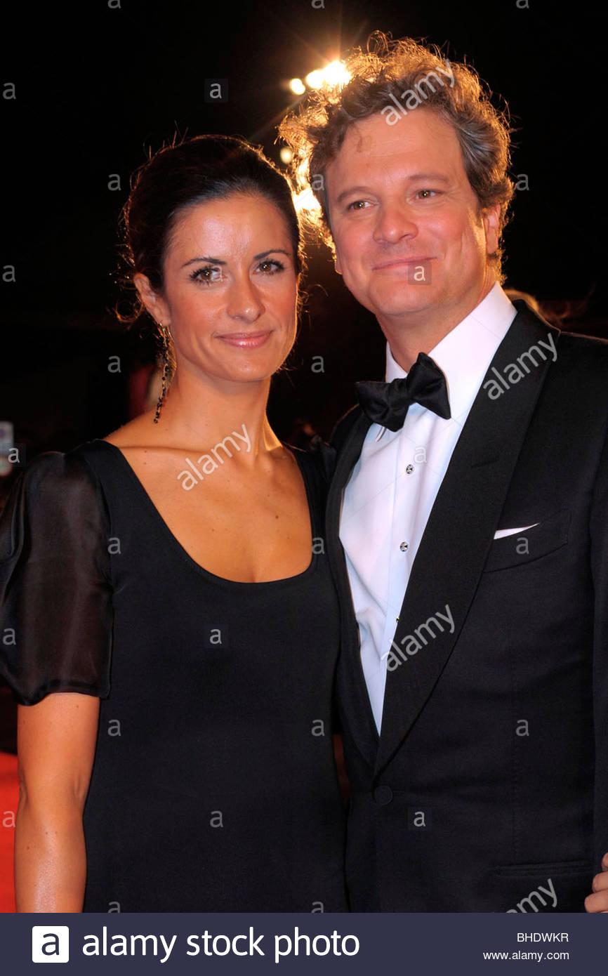 Colin Firth, Livia Giuggioli, 66. Filmfestspiele von Venedig Stockbild
