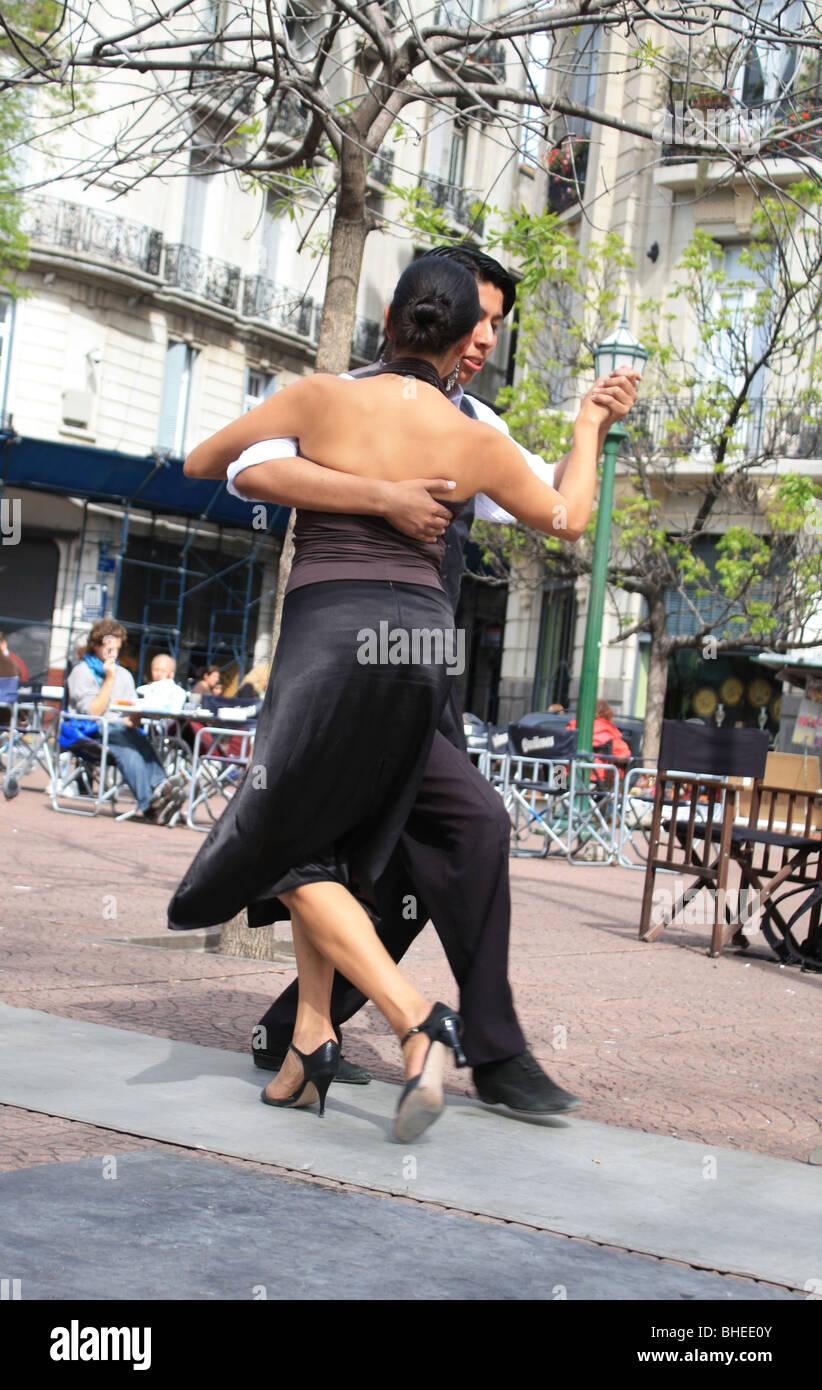 Tango-Tänzer, Buenos Aires, Argentinien Stockfoto