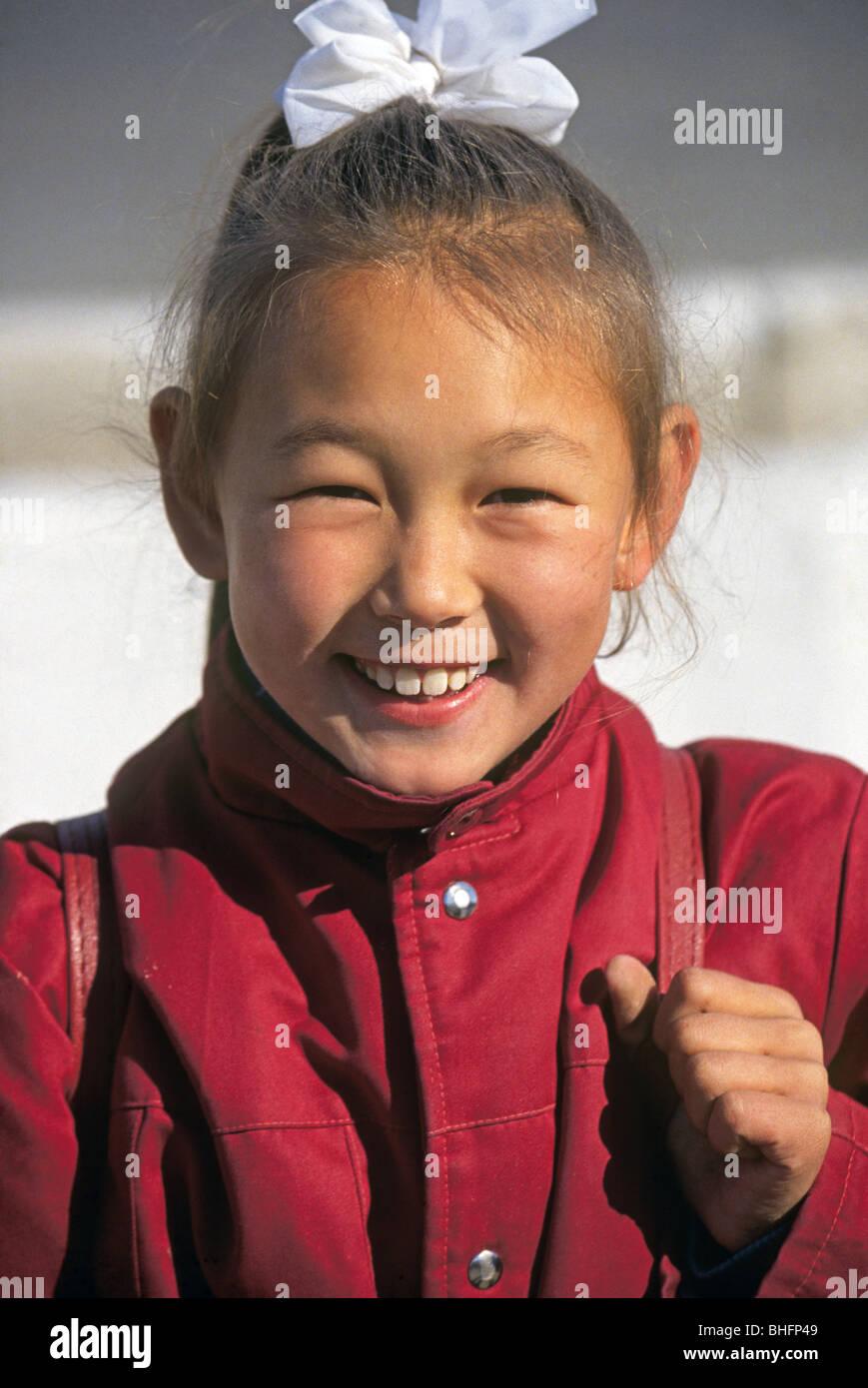 Kazakhstan Mädchen Foto