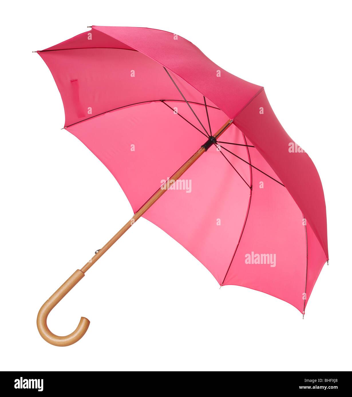 Roten Regenschirm Stockbild