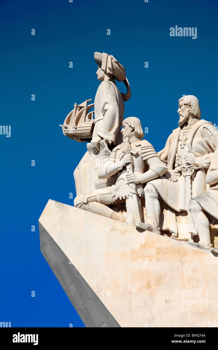 Denkmal der Entdeckungen Stockbild