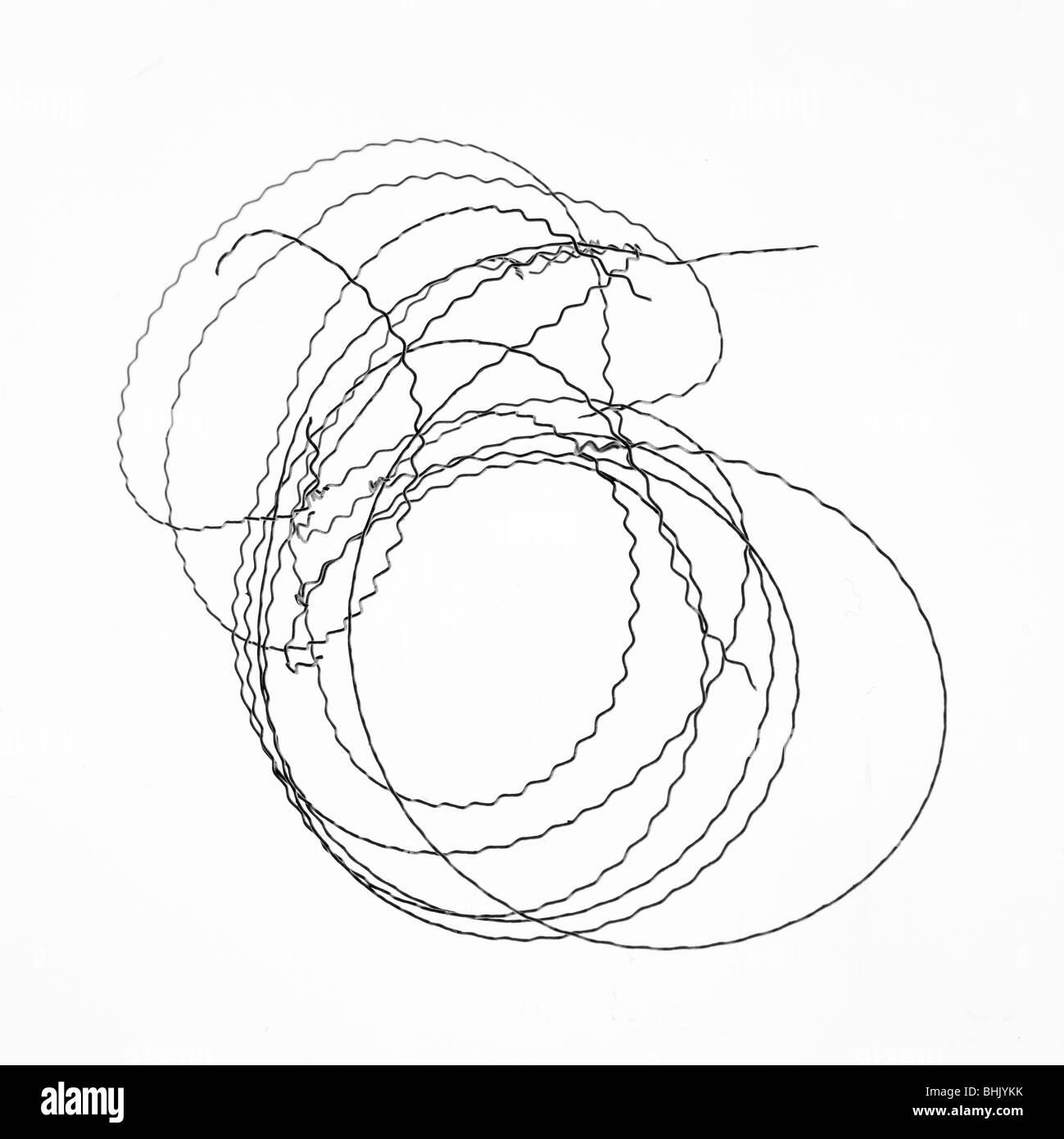 Shiny Barbed Wire Stockfotos & Shiny Barbed Wire Bilder - Alamy