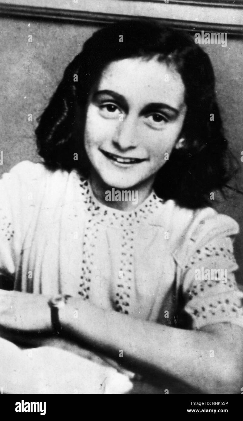Anne Frank (1929-1945). Artist: Unbekannt Stockfoto