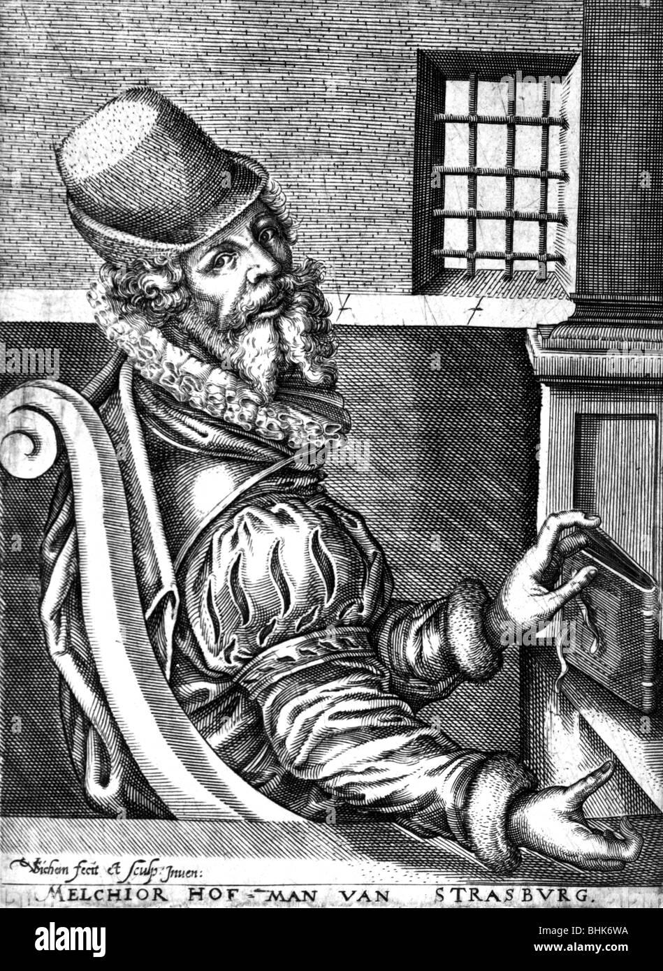 Prediger Len hofmann melchior ca 1500 1543 deutscher autor schriftsteller