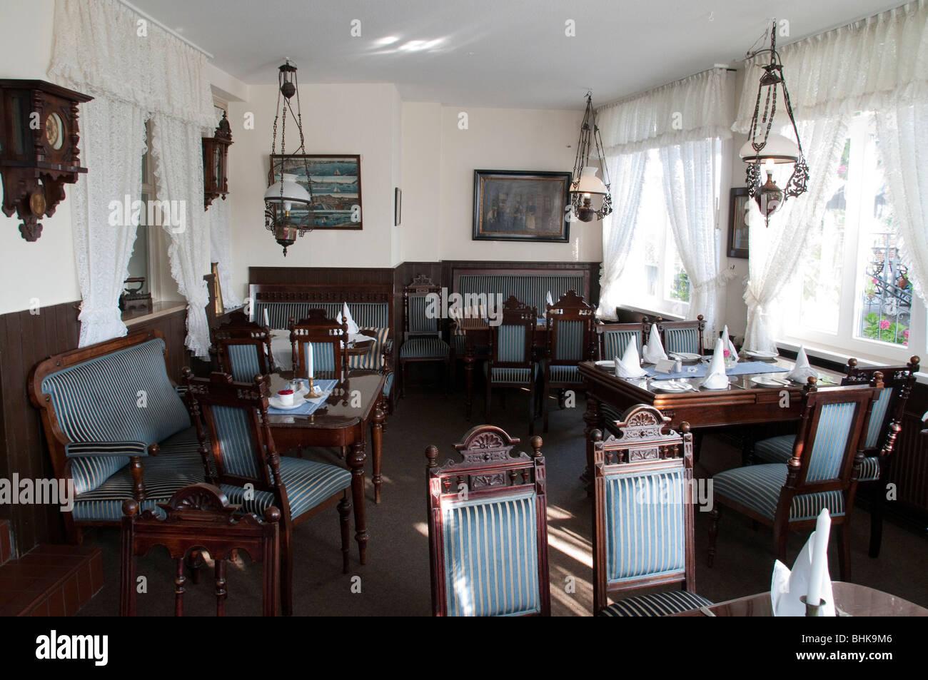 Restaurant Ahrberg Innen, Blankenese, Hamburg, Deutschland   Restaurant Ahrberg, Blankenese, Hamburg, Deutschland Stockbild