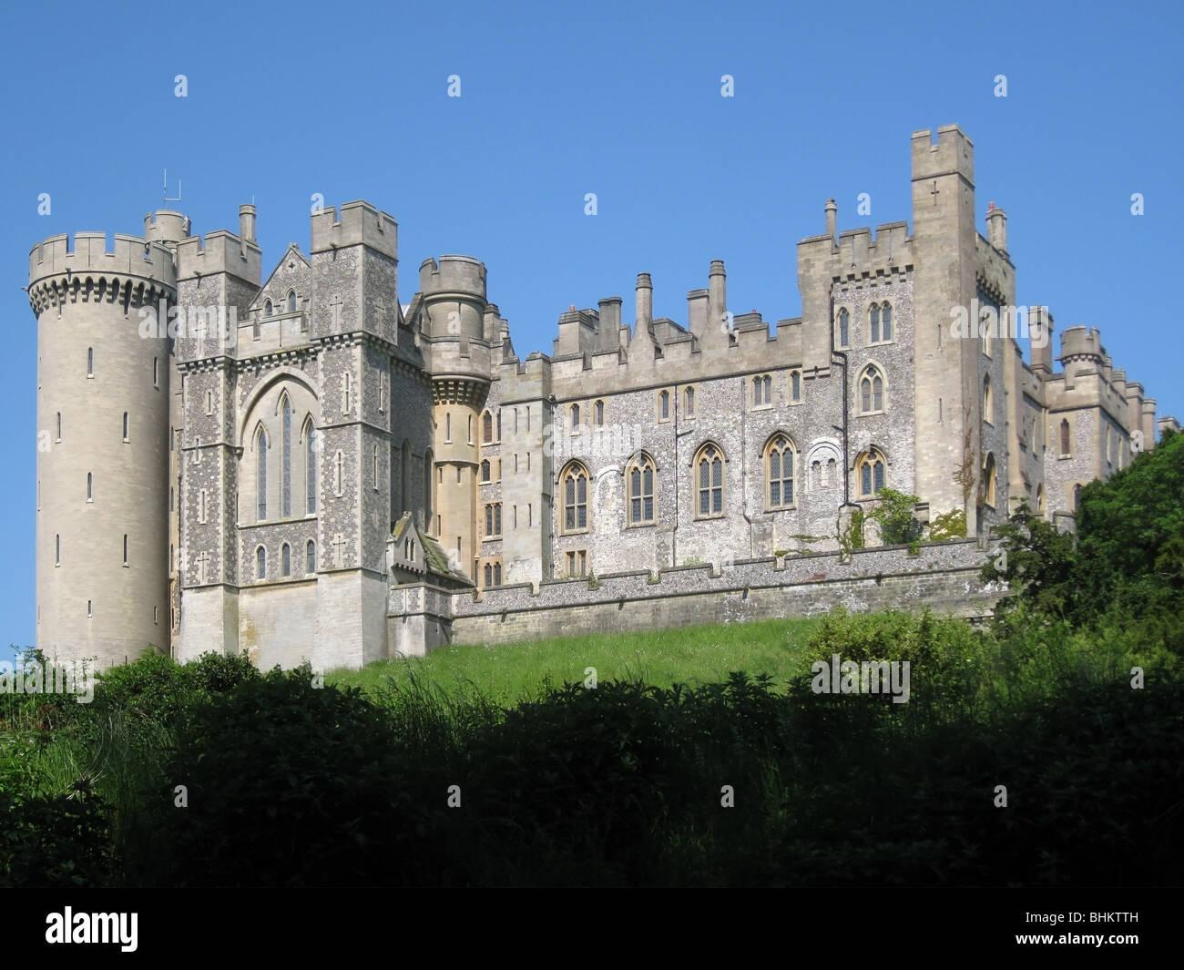 Arundel Castle, Sitz der Herzöge von Norfolk, West Sussex - 2 Stockfoto