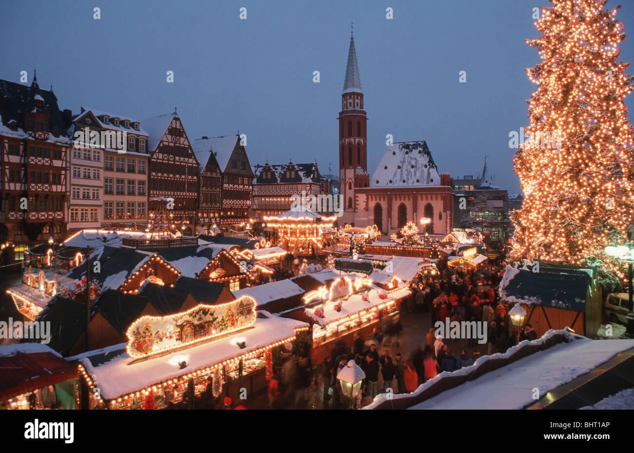 Frankfurter Weihnachtsmarkt.Deutschland Deutschland Frankfurt Am Main Frankfurter