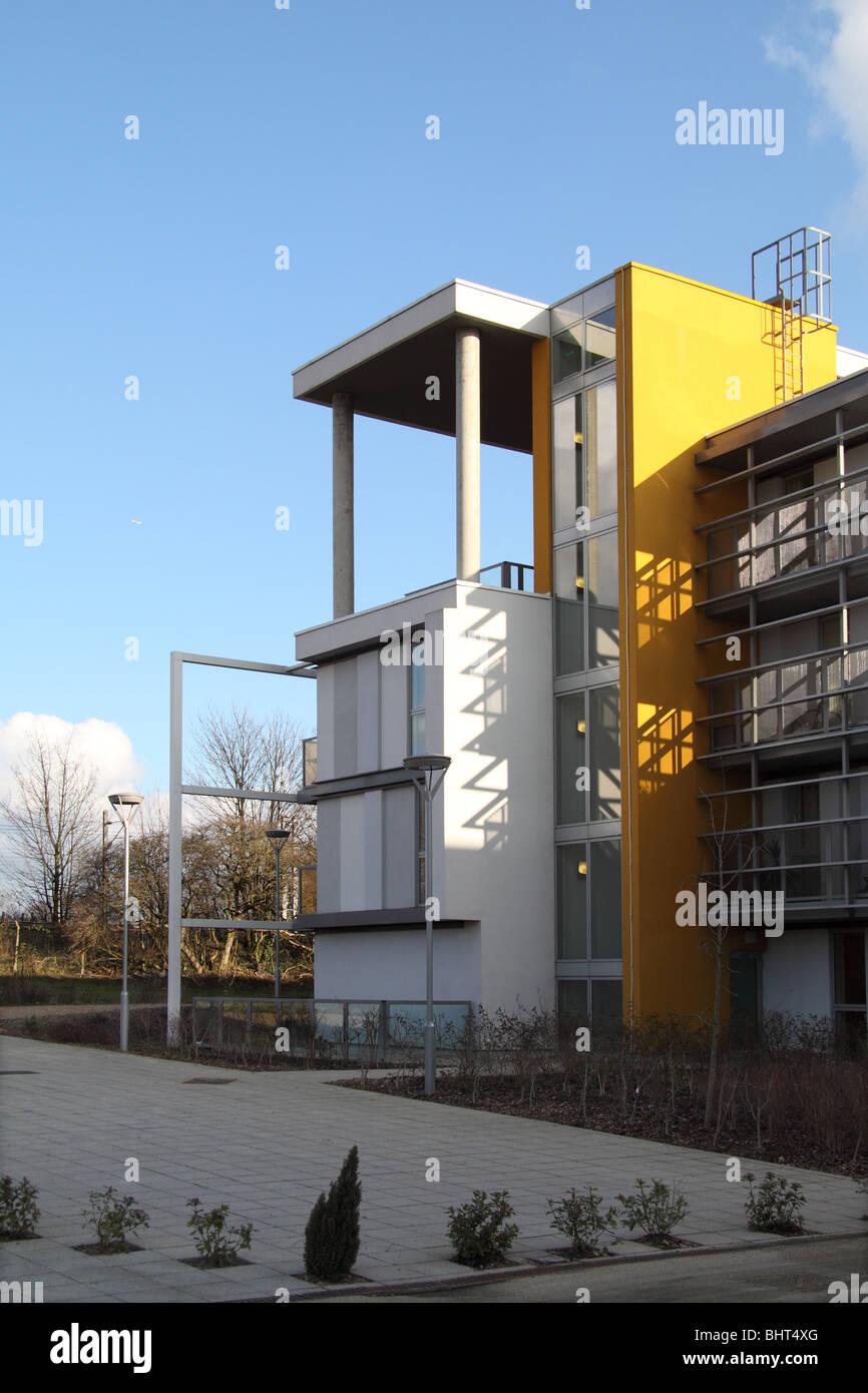 Der Einsatz von Farbe in der zeitgenössischen Architektur (moderne ...