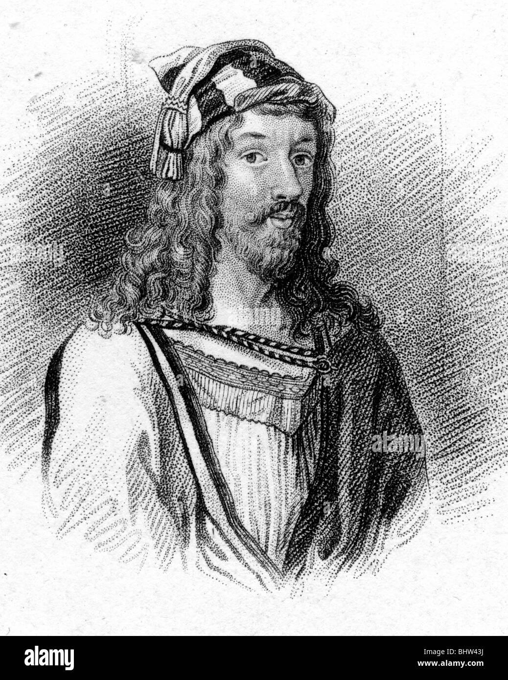 ALBRECHT Dürer - deutscher Maler und Kupferstecher (1471-1528) Stockbild