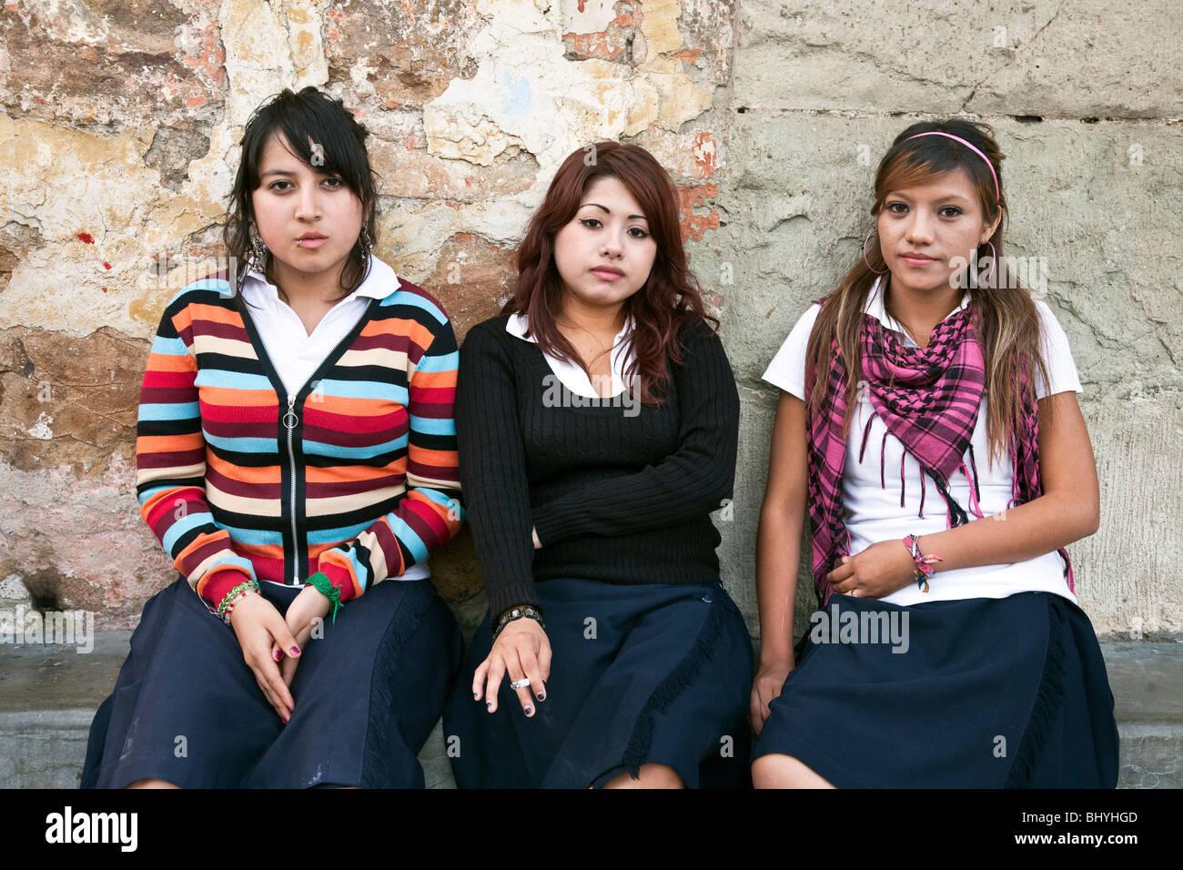 Teenager mexikanische Schöne junge Jung und