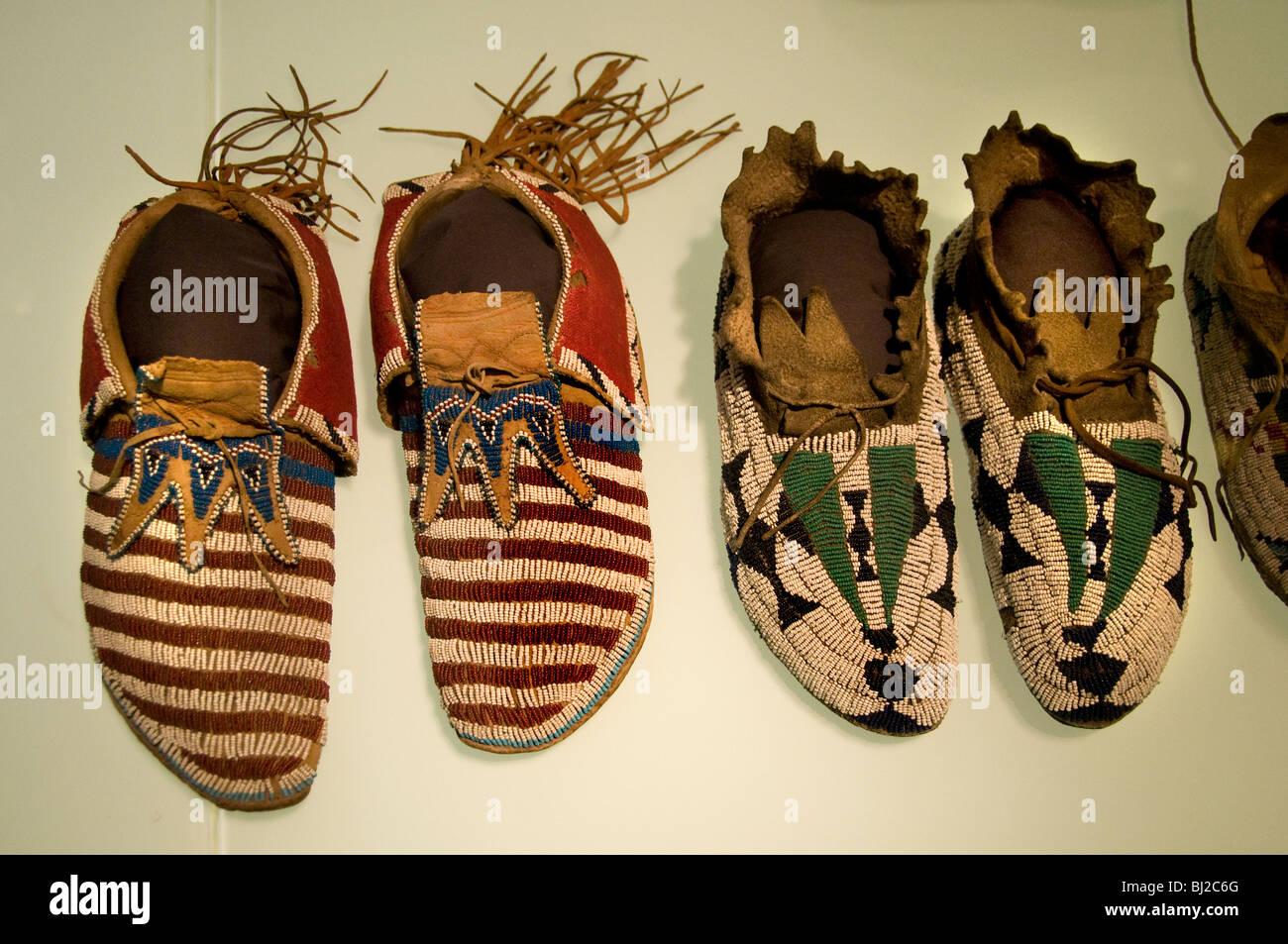832dc0fdf125 Nord-Westküste Amerika indische Indianer Mokassin Mokassins Schuh Schuhe