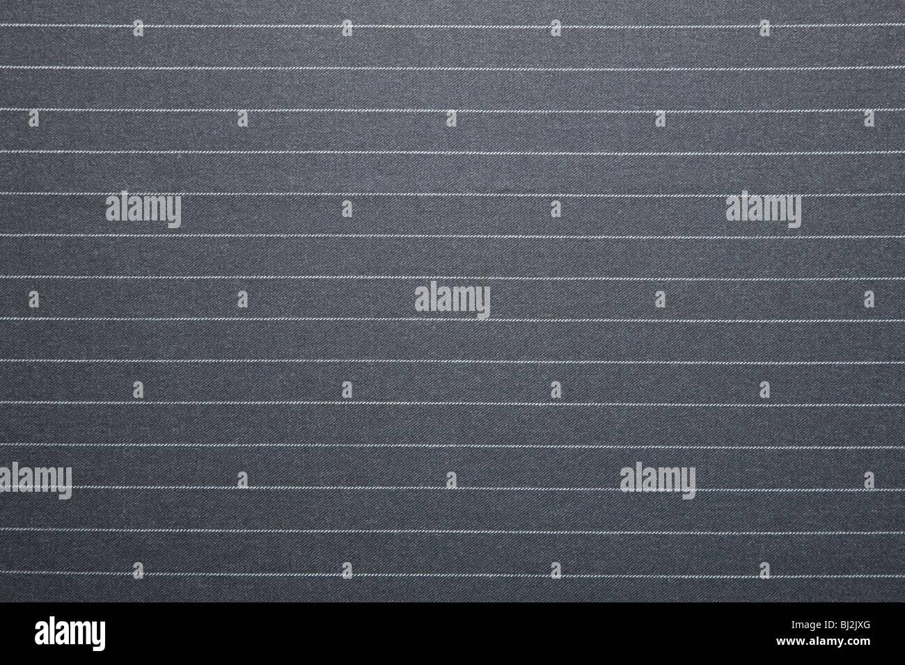Qualitativ hochwertige Nadelstreifen Anzug Hintergrundtextur Stockbild