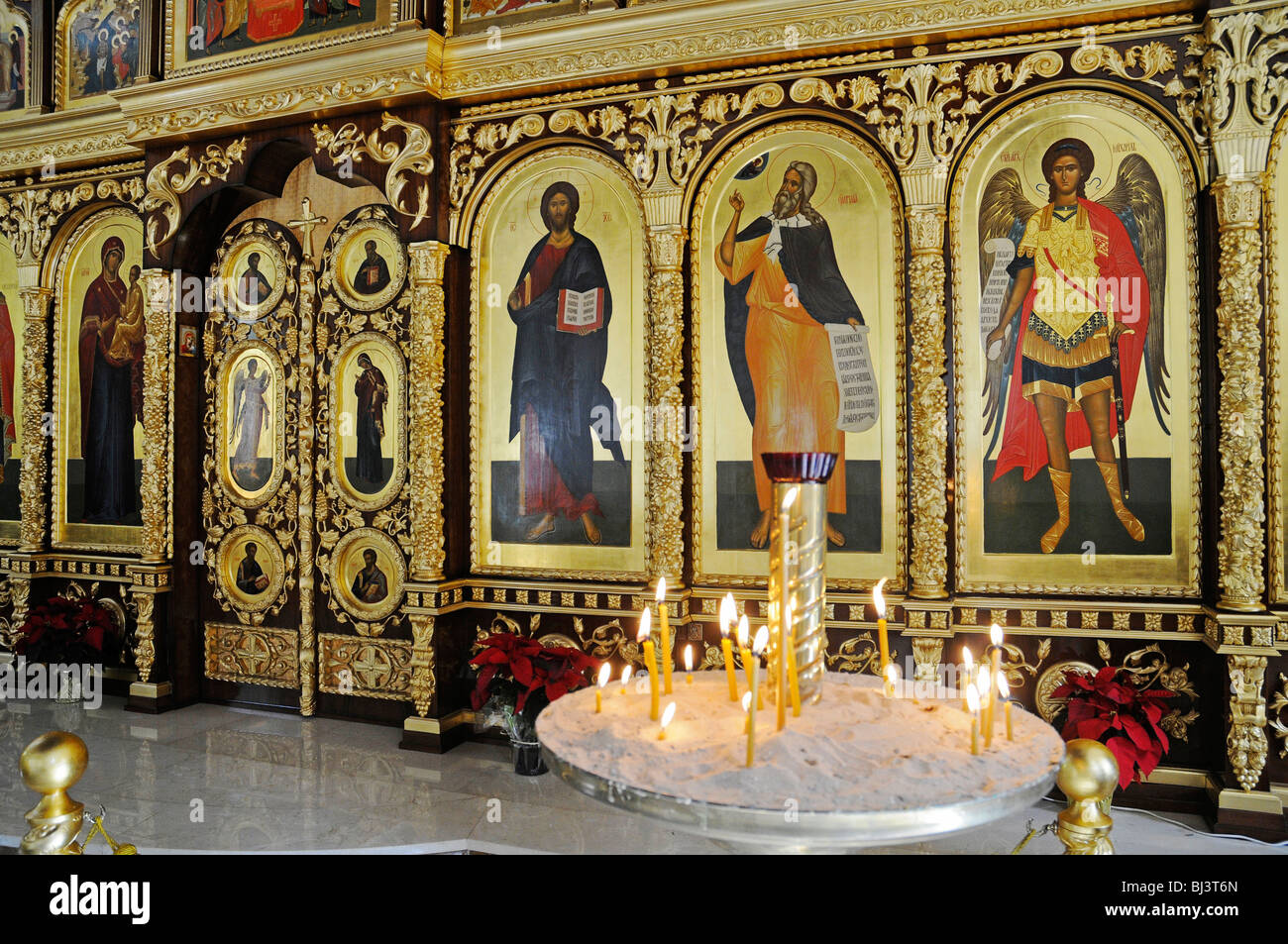 orthodox icons stockfotos orthodox icons bilder alamy. Black Bedroom Furniture Sets. Home Design Ideas