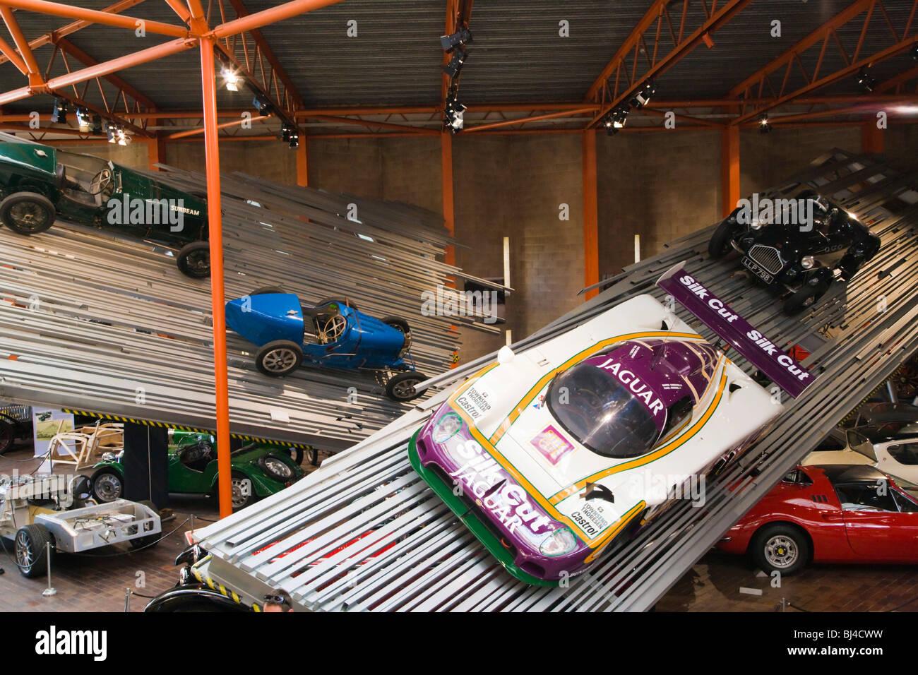 National Motor Museum Beaulieu, New Forest, Hampshire, England, Vereinigtes Königreich, Europa Stockbild