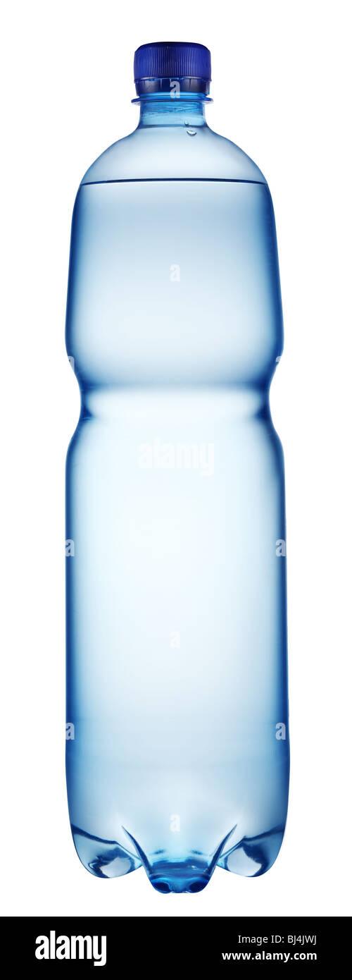 Kunststoff-Flasche Wasser Stockbild