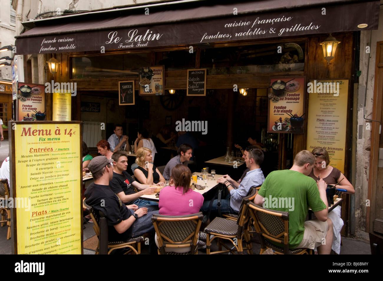 Restaurant Rue Malte Brun
