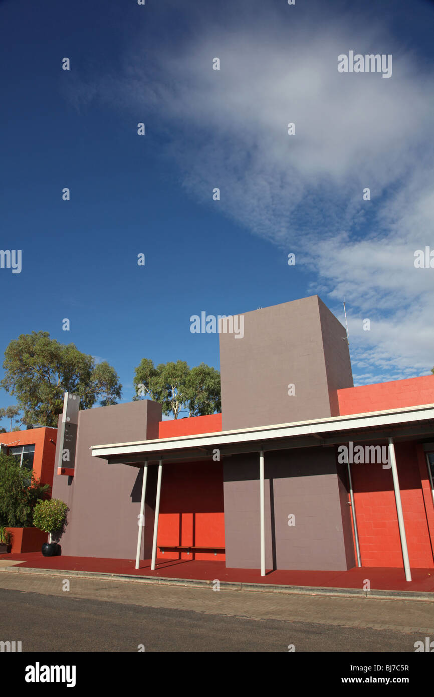 Die verlorenen Camel Hotel Ayers Rock Resort Uluru Northern Territory Australien Stockbild