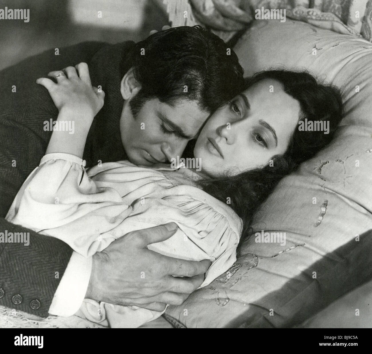 WUTHERING HEIGHTS - 1939 Goldwin Film mit Merle Oberon und Laurence Olivier Stockbild