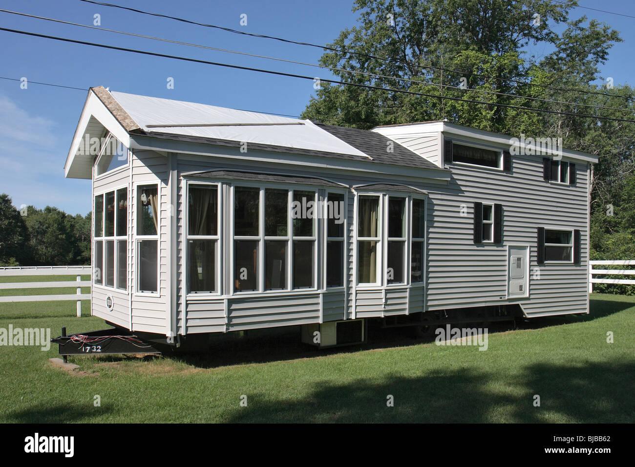 Ein Wohnwagen Gestylt Aussehen Wie Ein Haus Gansevoort Vereinigte
